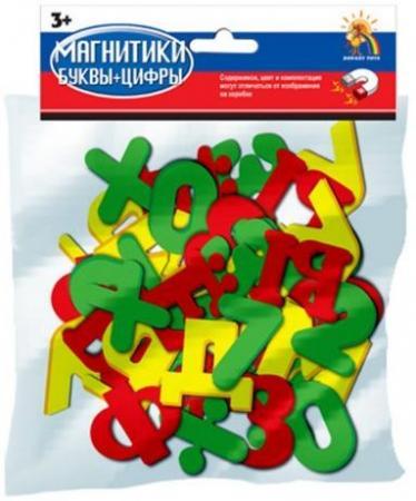 Набор магнитов Наша Игрушка Магнитики буквы и цифры R63 игрушка