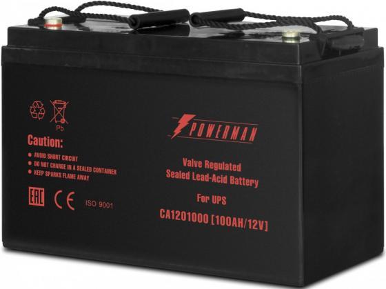 Батарея Powerman CA121000 12V/100AH electric bicycle battery ithium battery lithium battery 12v 100ah 12v 100ah deep cycle lithium ion battery with bms charger