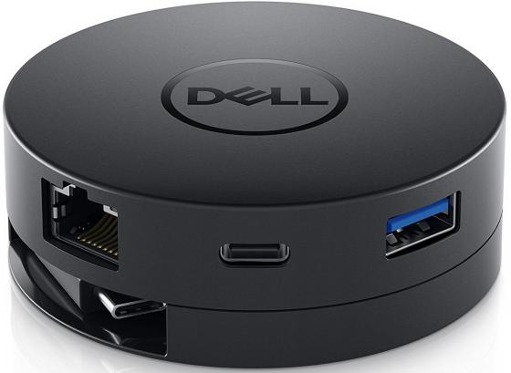 Адаптер Dell DA300 USB-C-HDMI/VGA/DP/Ethernet/USB-A/USB-C 492-BCJL