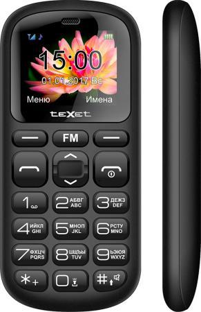 Мобильный телефон Texet TM-B221 черный 1.77