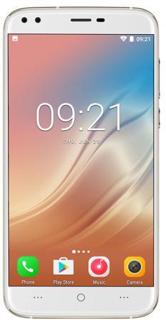 Смартфон Doogee X30 золотистый 5.5 16 Гб Wi-Fi GPS 3G смартфон meizu m6 note золотистый 5 5 16 гб lte wi fi gps