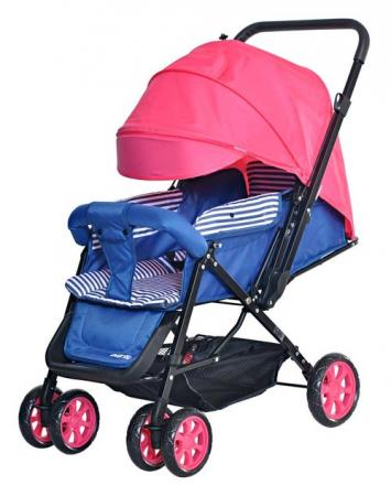 Коляска прогулочная Everflo Range (pink) прогулочная коляска carmella princess pink