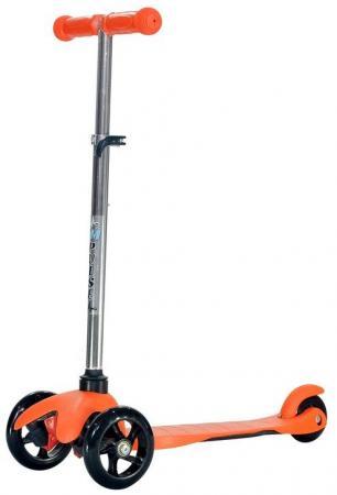 Самокат трехколёсный Impulse SA SA1708 orange 120/76 мм оранжевый SA1708 цена