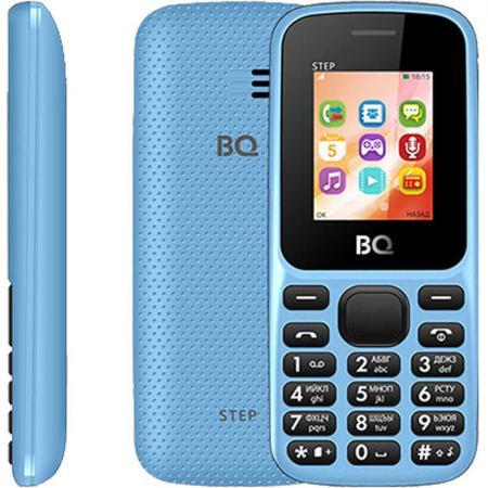 Мобильный телефон BQ 1805 Step голубой 1.77 64 Мб мобильный телефон bq mobile bqm 1831 step white