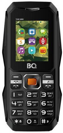 Мобильный телефон BQ BQ-1842 Tank mini черный 1.77 32 Мб мобильный телефон рация защищенный texet tm 515r
