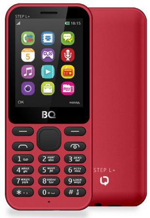 Мобильный телефон BQ BQ-2431 Step L+ красный 2.4 32 Мб мобильный телефон bq m 2431 step l white