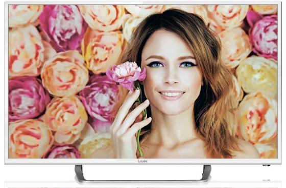 "Телевизор LED 24"" BBK 24LEM-1037/FT2C белый 1366x768 50 Гц VGA HDMI USB"
