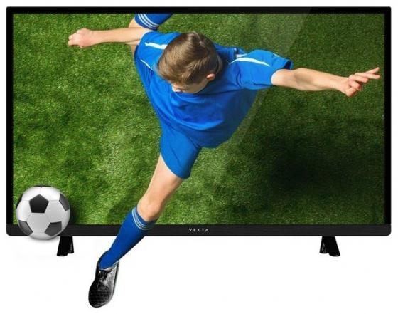 "цена Телевизор LED 39"" Vekta LD-39SR4215BT черный 1366x768 50 Гц VGA"