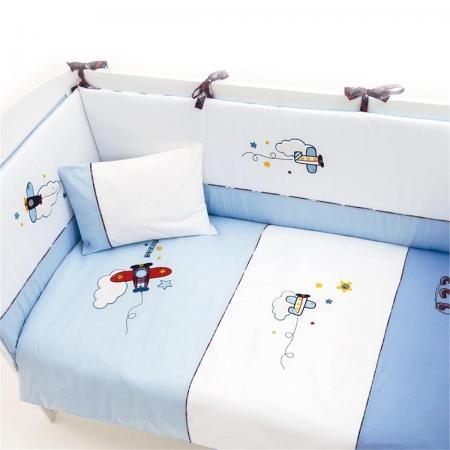 Постельный сет 125x65 5 предметов Funnababy Pilot цены онлайн