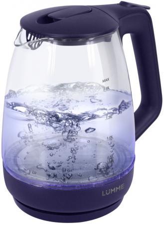 Чайник Lumme LU-140 2200 Вт темный топаз 2 л пластик/стекло чайник lumme lu 140 темный топаз 2200 вт 2 л стекло