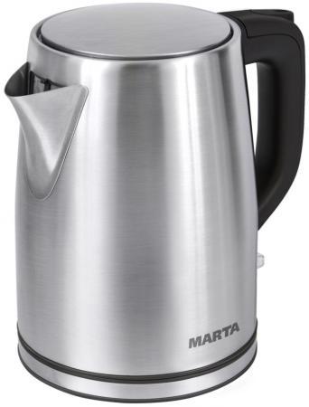 Чайник Marta MT-1092 2200 Вт черный жемчуг 2 л нержавеющая сталь люстра globo 69003 5