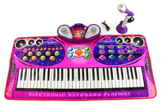 цена Музыкальный коврик Волшебное пианино 99 х 45 см