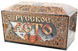 Настольная игра лото Десятое королевство Русское лото в подарочной упаковке 00142 настольная игра рав русское лото с 199