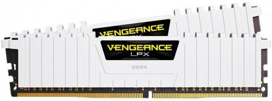 Оперативная память 16Gb (2x8Gb) PC4-24000 3000MHz DDR4 DIMM Corsair CMK16GX4M2C3000C16W материнская плата gigabyte ga h61m s2pv rev 2 2
