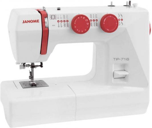 Швейная машинка Janome Tip 712 белый швейная машинка janome dresscode