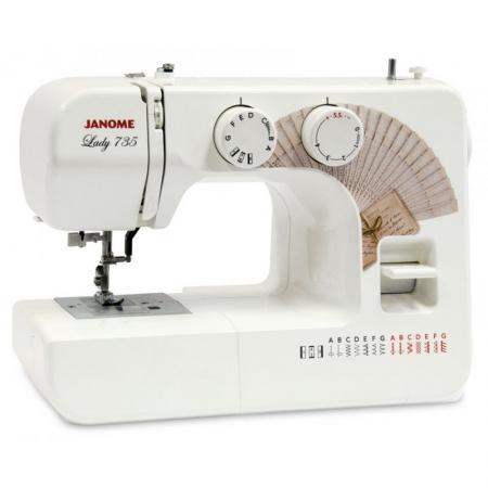 Швейная машинка Janome Lady 735 белый швейная машинка janome japan 957