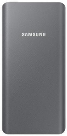 Внешний аккумулятор Power Bank 5000 мАч Samsung EB-P3020CSRGRU черный EB-P3020CSRGRU внешний аккумулятор samsung eb p3020c 5000 мач тёмно синий
