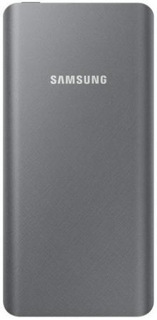 Внешний аккумулятор Power Bank 10000 мАч Samsung EB-P3000CSRGRU серебристый 2600mah power bank usb блок батарей 2 0 порты usb литий полимерный аккумулятор внешний аккумулятор для смартфонов светло зеленый