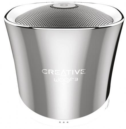 Портативная акустика Creative Woof 3 хром creative comb