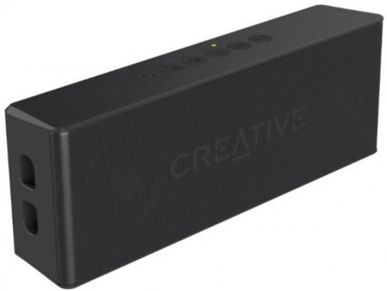 Портативная акустика Creative MUVO 2 черный колонка creative muvo 2 blue 51mf8255aa002