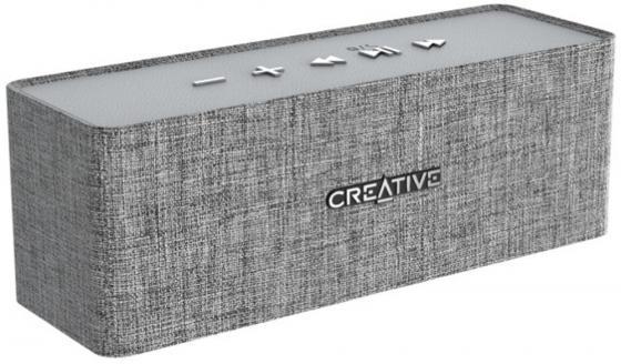 Портативная акустика Creative NUNO серый creative nuno micro black портативная акустическая система 51mf8265aa000