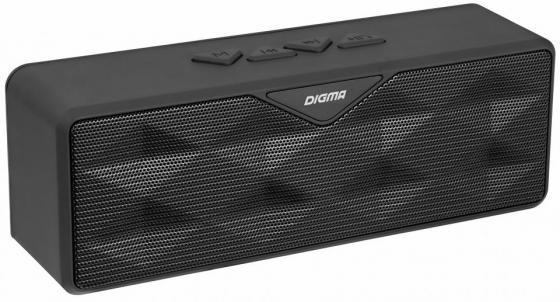 Портативная акустика Digma S-30 черный телевизор digma dm led32r201bt2