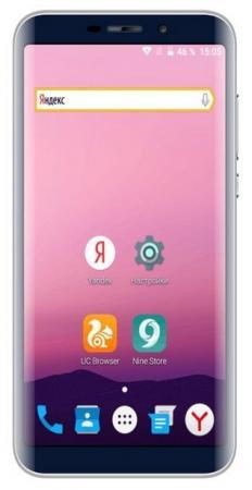 Смартфон ARK Elf S8 синий 5.72 8 Гб Wi-Fi GPS 3G смартфон ark wizard 1 черный 5 8 гб lte wi fi gps 3g