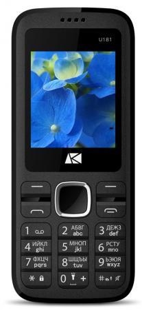 Телефон ARK Benefit U181 красный 1.8 32 Мб ark benefit m5 plus dual metallic