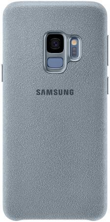 Чехол (клип-кейс) Samsung для Samsung Galaxy S9 Alcantara мятный (EF-XG960AMEGRU) клип кейс samsung alcantara для galaxy s8 розовый