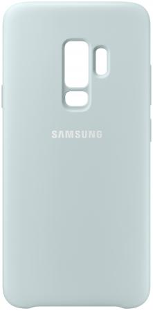 Чехол (клип-кейс) Samsung для Samsung Galaxy S9+ Silicone Cover голубой (EF-PG965TLEGRU) чехол клип кейс yoobao glow protect case для samsung galaxy s3 i 9300 голубой