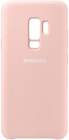 Чехол (клип-кейс) Samsung для Samsung Galaxy S9+ Silicone Cover розовый (EF-PG965TPEGRU) клип кейс ibox fresh для samsung galaxy s5 mini черный