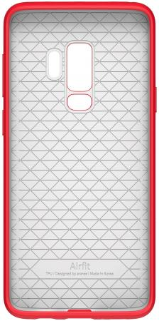 Чехол (клип-кейс) Samsung для Samsung Galaxy S9+ Airfit Pop красный (GP-G965KDCPBID) клип кейс ibox fresh для samsung galaxy s5 mini черный