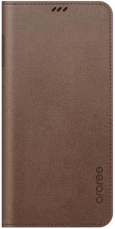 Чехол (флип-кейс) Samsung для Samsung Galaxy S9+ Mustang Diary коричневый (GP-G965KDCFAID) pink tree design pu кожа флип крышку кошелек карты держатель чехол для samsung c5