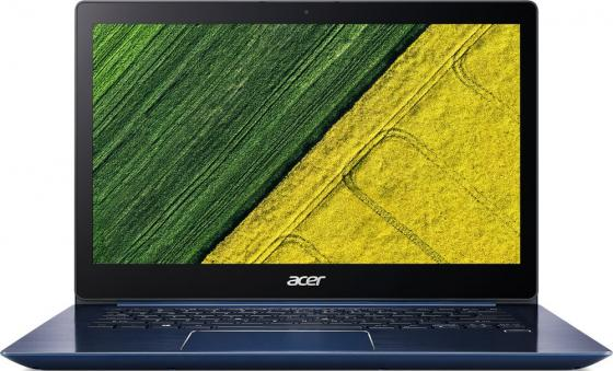Ультрабук Acer Swift SF314-52-51QS 14 1920x1080 Intel Core i5-8250U 256 Gb 8Gb Intel UHD Graphics 620 синий Linux NX.GQJER.001 laptop palmrest for acer as5940 5940g 5942 5942g 60 pfq02 001 ap09z000400