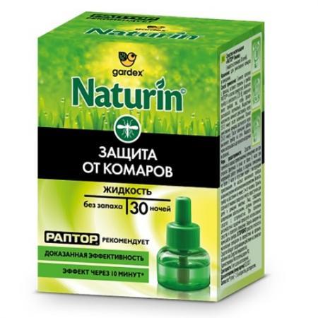 Naturin Жидкость от комаров без запаха 30 ночей жидкость raid д электрофумигатора 30 ночей