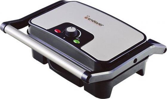Купить со скидкой Электрогриль ENDEVER Grillmaster 210 серебристый чёрный