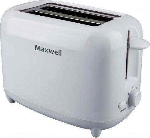 Тостер Maxwell MW-1505 белый тостер maxwell mw 1504 w 750вт белый