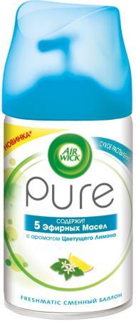 Освежитель воздуха Air Wick Pure 5 эфирных масел 250 мл 3055049 air wick pure освежитель воздуха 5 эфирных масел с ароматом цветущего лимона 250 мл