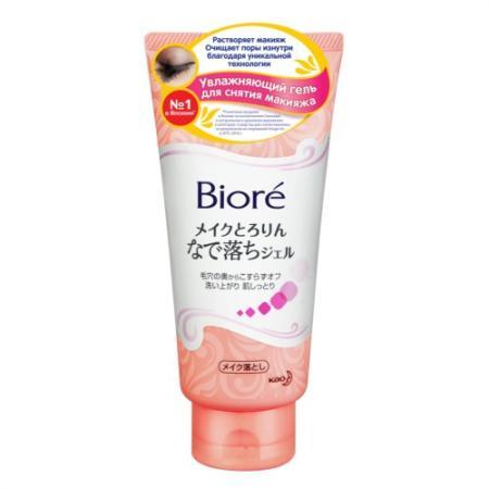 BIORE Увлажняющий гель для снятия макияжа 170 гр biore 160ml