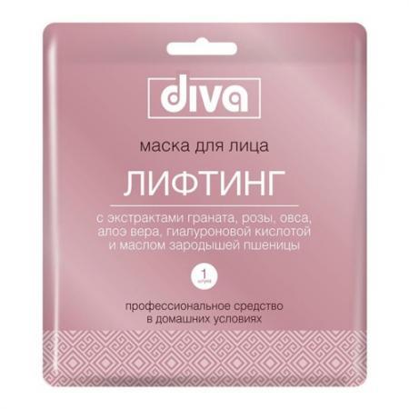 DIVA Маска для лица на тканевой основе Лифтинг серьги diva diva di006dwzgk63