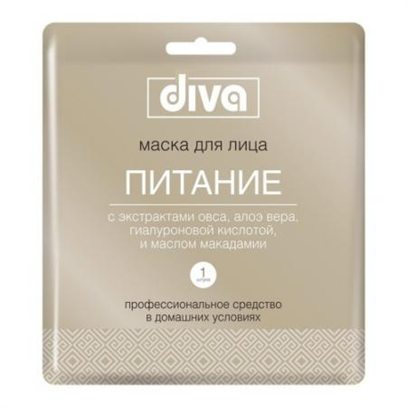 DIVA Маска для лица на тканевой основе Питание