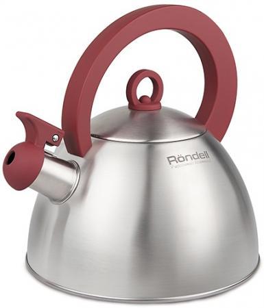 Чайник Rondell Strike стальной 2 л нержавеющая сталь RDS-921 921 rds чайник rondell 2 0 л strike