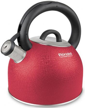 Чайник Rondell Infinity красный 2.7 л нержавеющая сталь RDS-845 чайник kitchenaid kten20sbob чёрный 1 9 л нержавеющая сталь