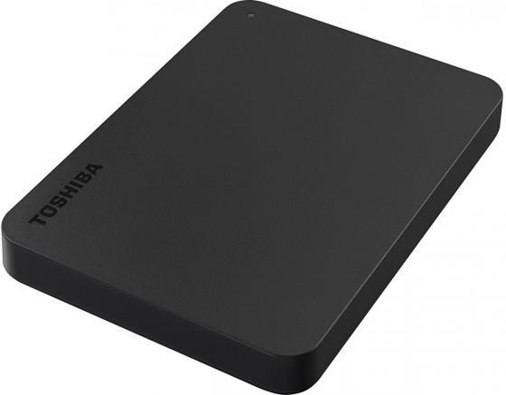 "Внешний жесткий диск 2.5"" USB 3.0 1Tb Toshiba Canvio Basics черный HDTB410EK3AA внешний жесткий диск toshiba usb 3 0 500gb hdtc805ec3aa canvio connect ii 2 5 золотистый"