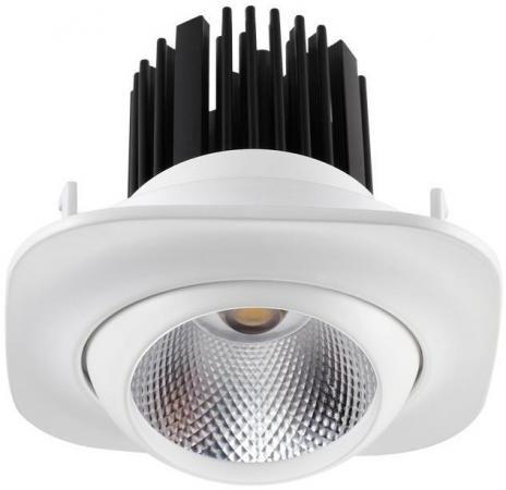 Встраиваемый светодиодный светильник Novotech Drum 357696