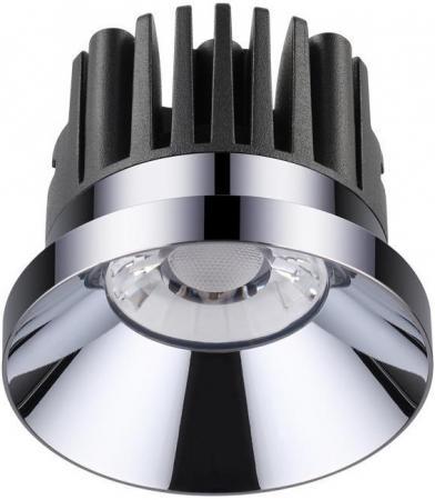 Встраиваемый светодиодный светильник Novotech Metis 357589 novotech 357590 nt18 000 никель встраиваемый светодиодный светильник 10w 100 265v metis