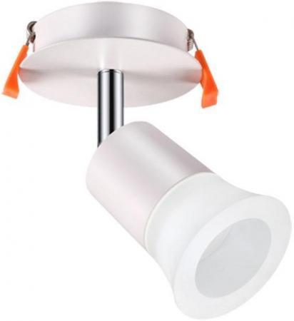 Встраиваемый светодиодный светильник Novotech Solo 357457 светильник встраиваемый novotech 357457