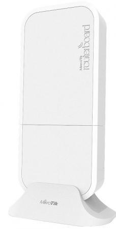 Точка доступа MikroTik wAP R 802.11bgn 2.4 ГГц 1xLAN белый RBWAPR-2ND цена и фото