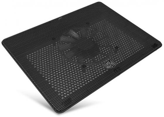 "Подставка для ноутбука до 17"" Cooler Master MasterNotepal L2 MNW-SWTS-14FN-R1 металл 1400об/мин 29db черный"