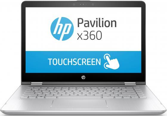 """все цены на Ноутбук HP Pavilion x360 14-ba022ur 14"""" 1920x1080 Intel Core i7-7500U 1 Tb 128 Gb 8Gb nVidia GeForce GT 940MX 4096 Мб серый DOS 1ZC91EA онлайн"""